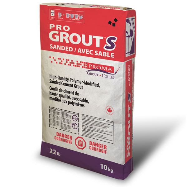 Pro Grout S Sanded Proma