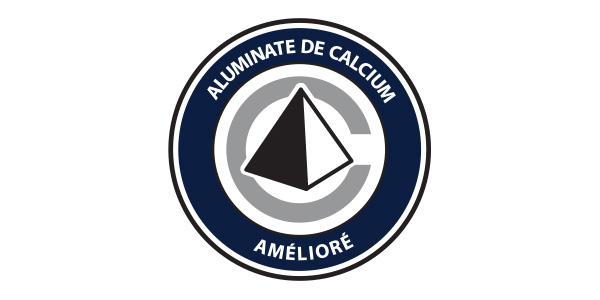 aluminate de calcium amélioré