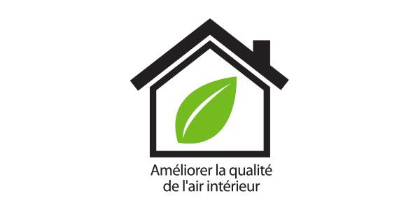 améliorer la qualité de l'air intérieur